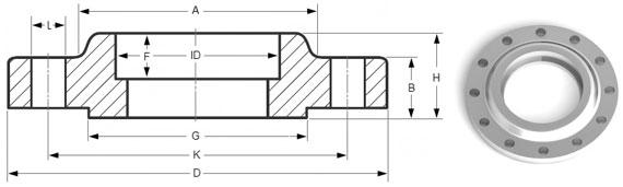 Socket weld flanges supplier exporter in india trio steel
